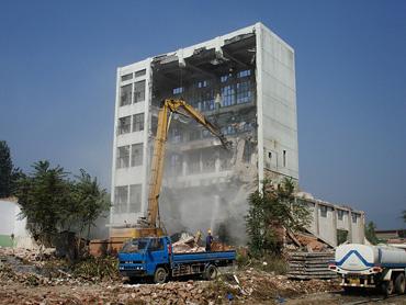 懷柔三環飼料廠拆除工程